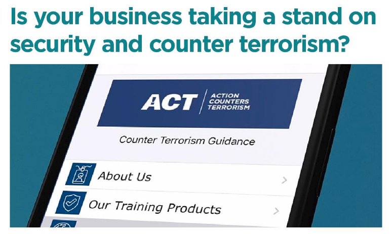 Is Your Business taking a Stand on Security and Counter Terrorism?